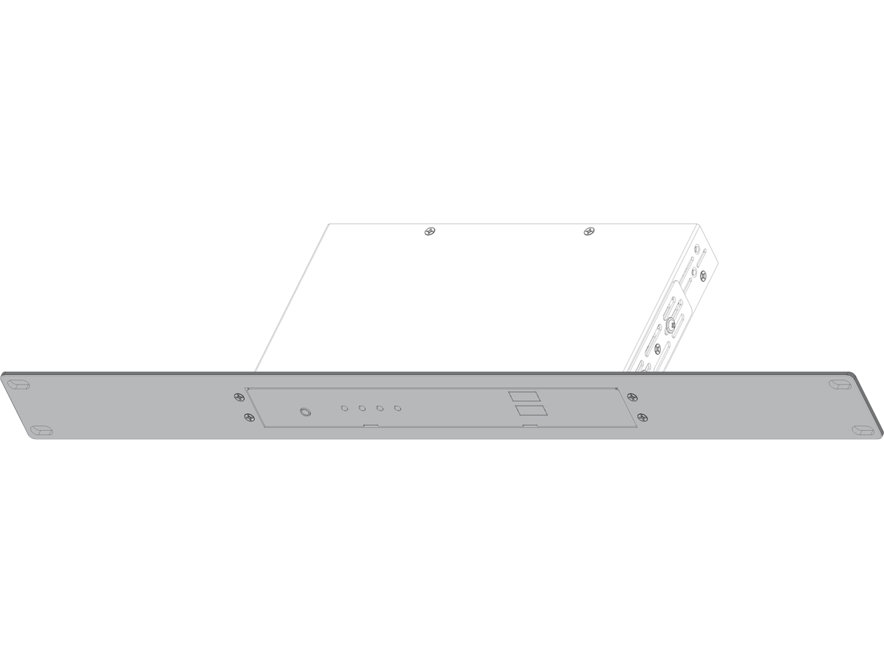SB-6077: Rackmount Bracket for SB-36xxT/R - 1RU